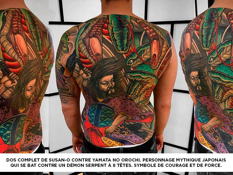 Comment Choisir Son Tatouage Japonais Jf Trudel Tattoo Art